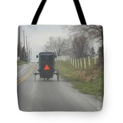 April Afternoon Buggy Ride Tote Bag