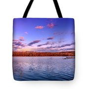 April Evening At The Lake Tote Bag