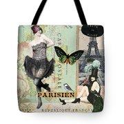 April In Paris Tote Bag