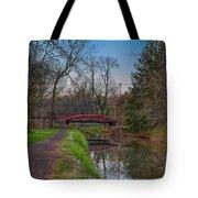 April In Washingtons Crossing Tote Bag