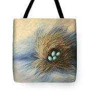 April Nest Tote Bag
