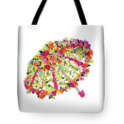 April Showers Bring May Flowers Tote Bag by Lauren Heller