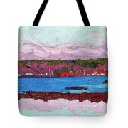 April Sunrise Singleton Tote Bag