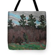 April White Pine Forest Tote Bag