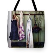 Aprons And Feather Duster Tote Bag