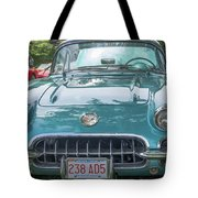 Aqua Blue 1959 Corvette  Tote Bag