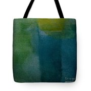 Aqua Blue - Abstract Tote Bag