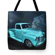 Aqua Blues Tote Bag