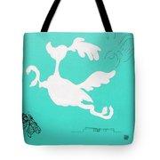 Aqua Palm Springs Idyll Tote Bag