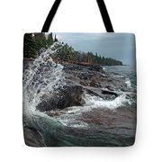 Aqua Shore Tote Bag