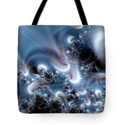 Aquafractal Tote Bag