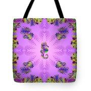 Aquarium Rising Lavender Tote Bag