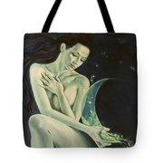 Aquarius From  Zodiac Signs Series Tote Bag by Dorina  Costras