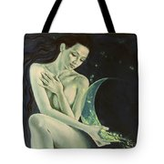 Aquarius From  Zodiac Signs Series Tote Bag