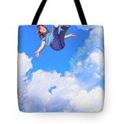 Aquarius Rising Tote Bag