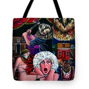 Aquarius Stage Fright Tote Bag