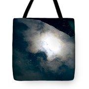 Aquatic Leaf Galaxy  Tote Bag