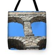 Aqueduct Of Segovia Tote Bag