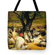 Arab Chieftains In Council  Tote Bag