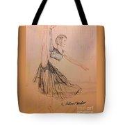Arabesque On Pointe Tote Bag