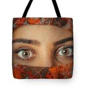 Arabian Beauty Tote Bag