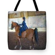 Arabian Dressage Tote Bag