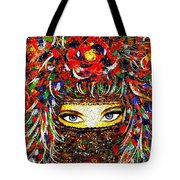 Arabian Eyes Tote Bag