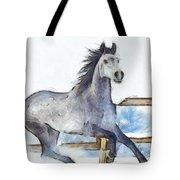Arabian Horse And Snow - Da Tote Bag