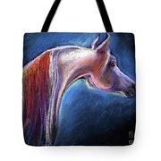 Arabian Horse Equine Painting Tote Bag