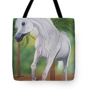Arabian King Tote Bag
