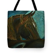 Arabian Moon Tote Bag