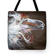 Arabian Stallion Tote Bag