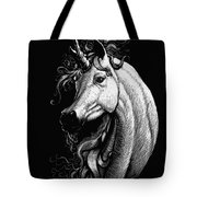 Arabian Unicorn Tote Bag
