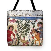 Arabic Physician Tote Bag