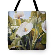 Aram Lillies Tote Bag