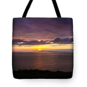 Aran Islands At Sunset Tote Bag