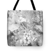 Arbor Grapes Sketch Tote Bag