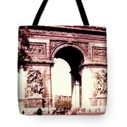 Arc De Triomphe 1955 Tote Bag