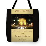 Arc De Triomphe By Bus Tour Cover Art Tote Bag