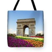 Arc De Triomphe In Paris Tote Bag
