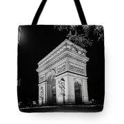 Arc De Triomphe Paris, France  Tote Bag