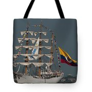 Arc Gloria Colombian Tall Ship Tote Bag