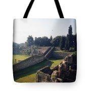 Arcaded Court Of The Gladiators Pompeii Tote Bag