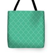 Arcadia Quatrefoil Tote Bag
