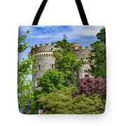 Arcadia University Castle - Glenside Pennsylvania Tote Bag