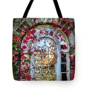 Arch And Red Vines Tote Bag