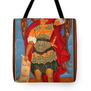 Arch Angel - St Michael Tote Bag by Bill Cannon