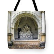 Arch At Fontevraud Abbey  Tote Bag