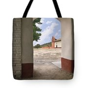 Arch At La Purisima Tote Bag