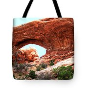 Arch Face Tote Bag